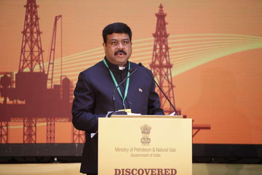 Petroleum Minister Dharmendra Pradhan in London