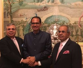 Chouhan Woos London Biz Leaders