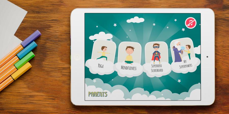 Rashmi, Jagruti introduce yoga App for kids