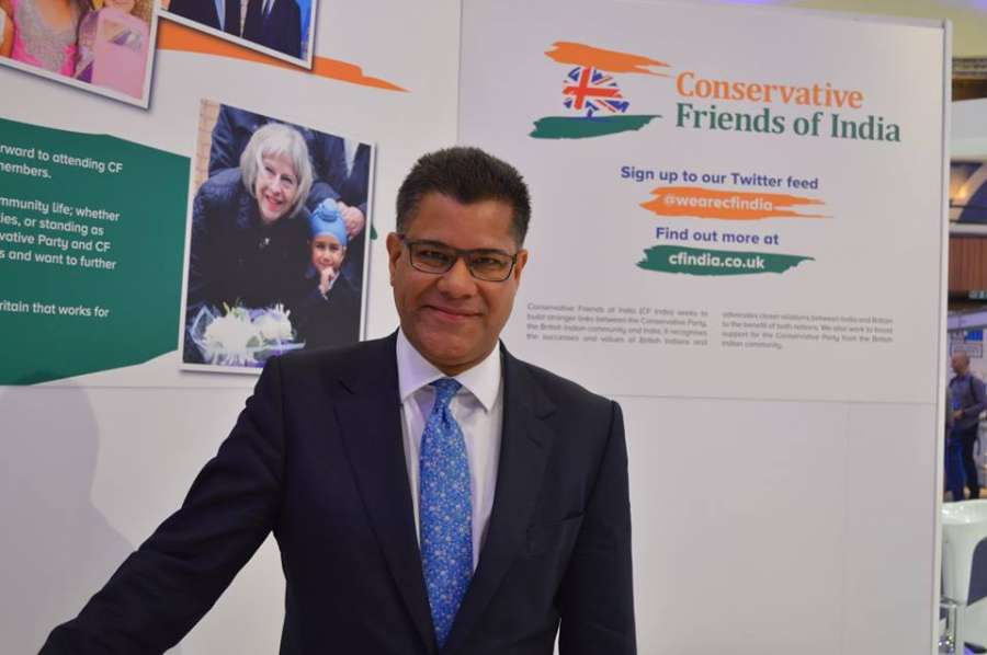Alok Sharma MP, Minister at FCO, at the reception
