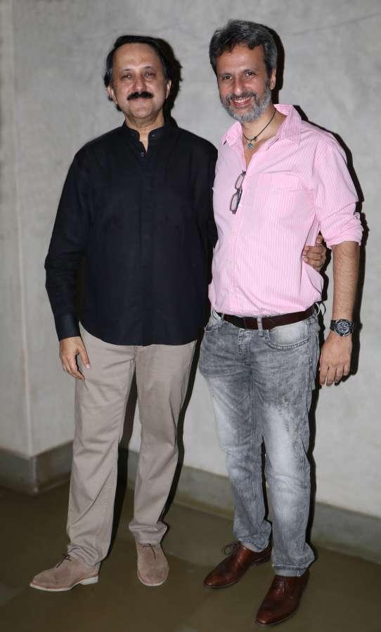 Rohit Khattar (L) and Anil Thadani