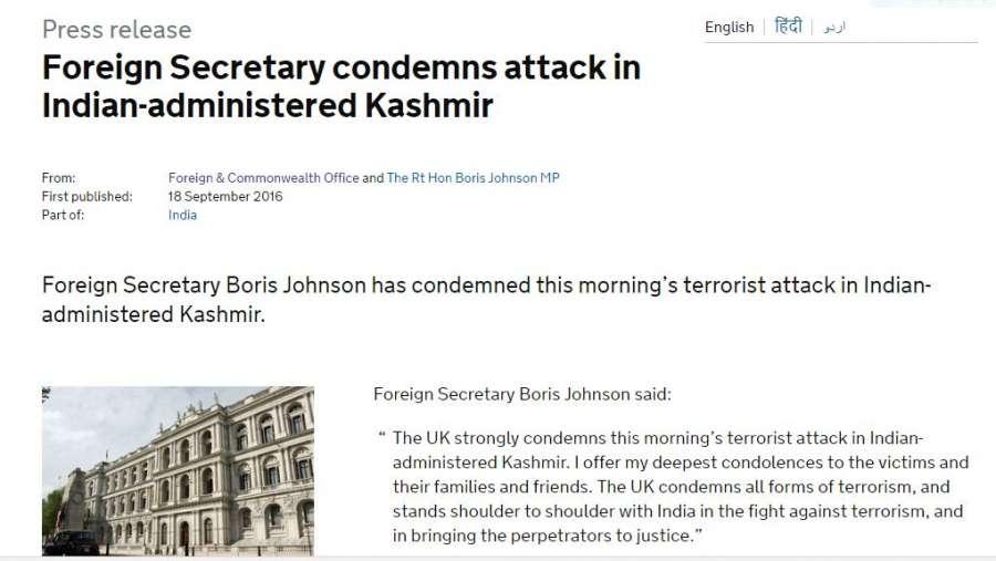 Boris on Kashmir - indian-administered-kashmir