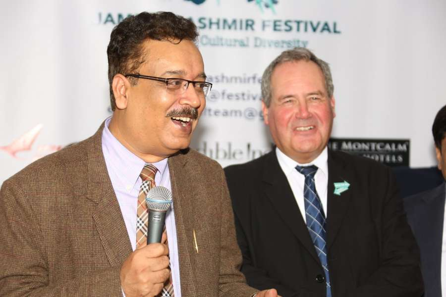 JK festival - Naveen Choudhary and Bob Blackman