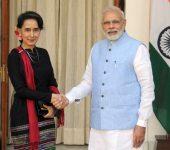 Modi Renews Support to Myanmar