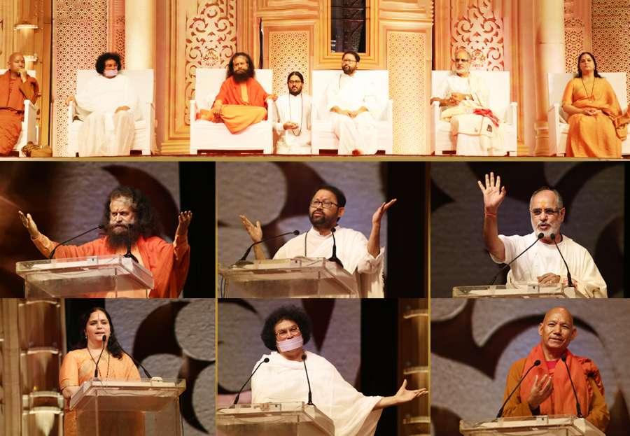 Spiritual leaders various faiths grace Pujya Gurudevshris golden jubilee celebrations