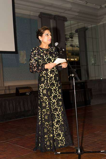 Anita Choudhrie at 'Path to Success' charity dinner