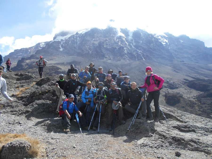 A Mancunian's trust with Mount Kilimanjaro