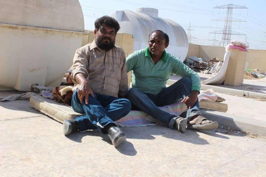 Journalist VM Sathish (left) with Rajan