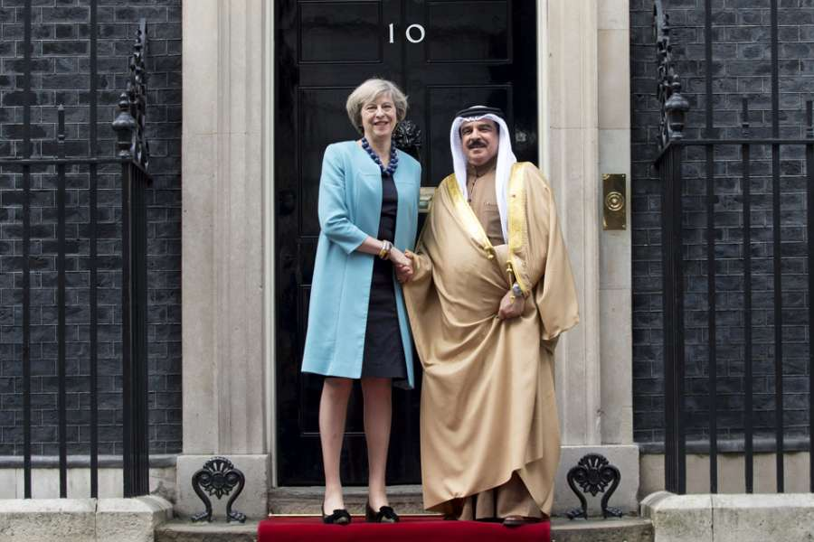 King Of Bahrain Visits Downing Street