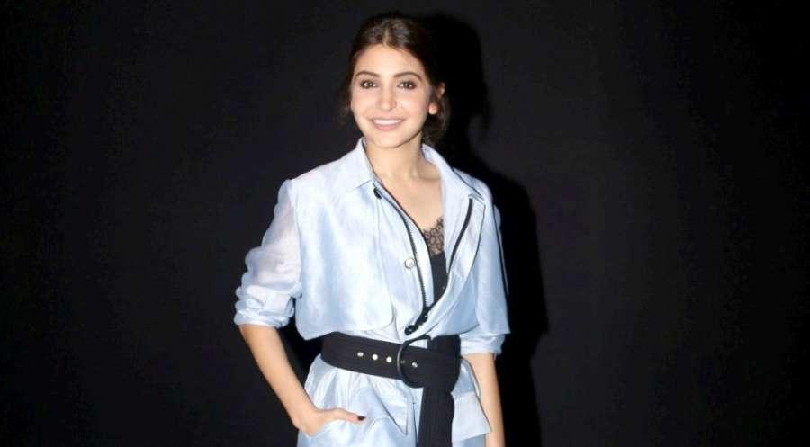 Mumbai: Actress Anushka Sharma during the Van Heusen GQ Fashion Nights in Mumbai on Dec 3, 2016. (Photo: IANS)