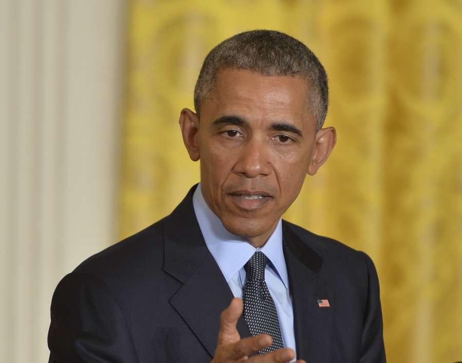 US President Barack Obama. (File Photo: Xinhua/Bao Dandan/IANS)