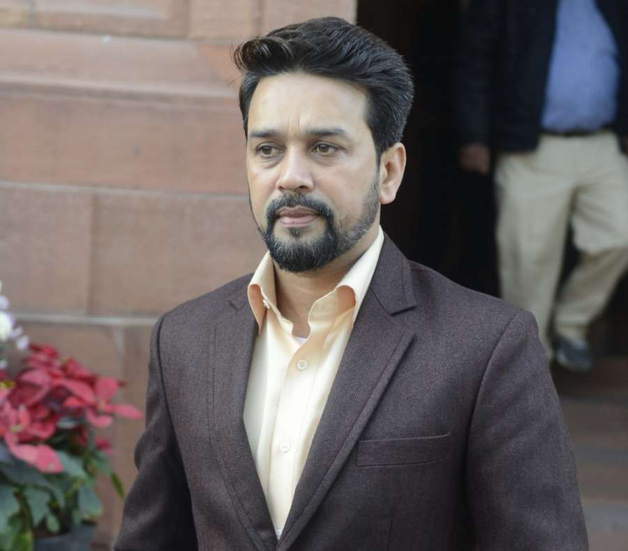 BJP MP and BCCI President Anurag Thakur. (File Photo: IANS)