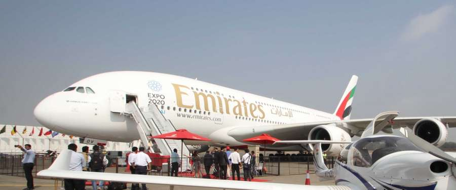 Emirates Airlines. (File Photo: IANS)
