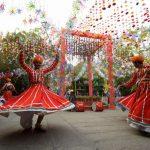 Jaipur: Rajasthani Folk Dancers perform at Diggi Palace ahead of Jaipur Literature Festival in Jaipur, on Jan 18, 2017. (Photo: Ravi Shankar Vyas/IANS) by .