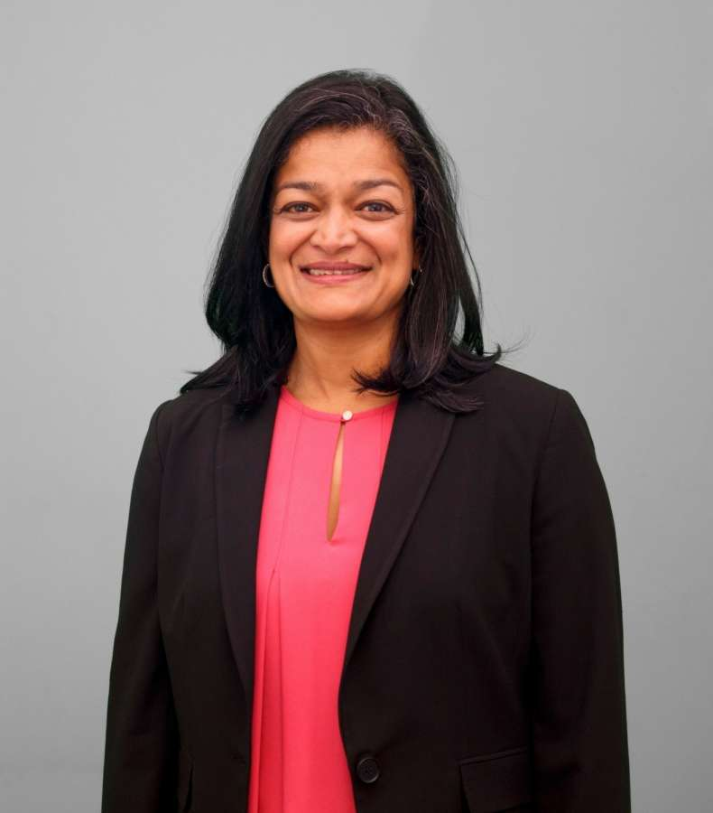 Pramila Jayapal was elected to the House of Representatives on Tuesday, Nov. 9, 2016, from Washington State. A financial analyst by profession, she was born in India and has been a civil rights activist involved in immigrant causes. (Photo: Jayapal Campaign/IANS)