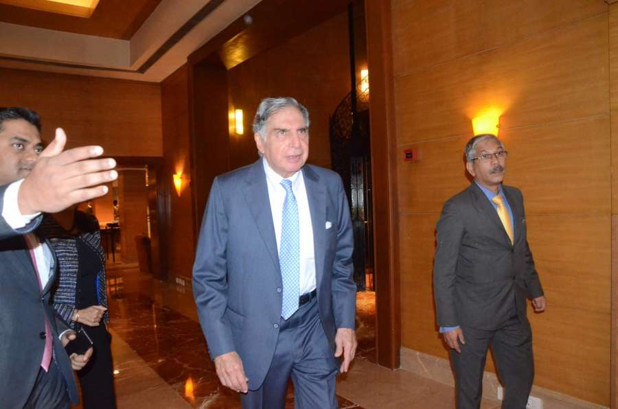 """Interim Chairman of Tata Sons Ratan Tata at the launch of """"City Data for India"""" in Mumbai on Jan 20, 2017. (Photo: IANS) by ."""