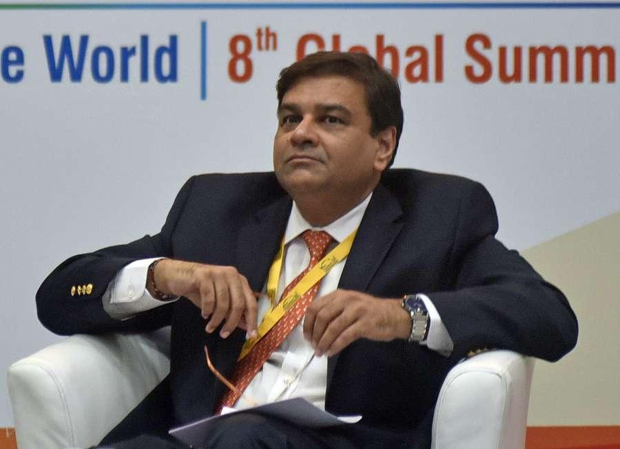 Gandhi Nagar: Reserve Bank of India (RBI) Governor Urjit Patel during a Vibrant Gujarat Investor Summit 2017 in Gandhi Nagar on Jan 11, 2017. (Photo: IANS)