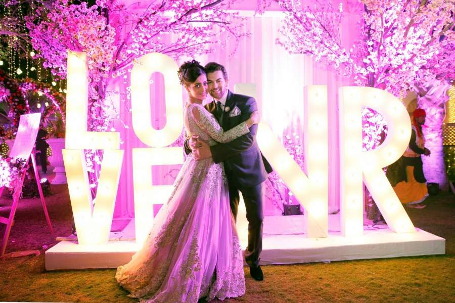 Mumbai: Actor Neil Nitin Mukesh and Rukmini Sahay during their wedding ceremony in Mumbai, on Feb 7, 2017. (Photo: IANS) by .