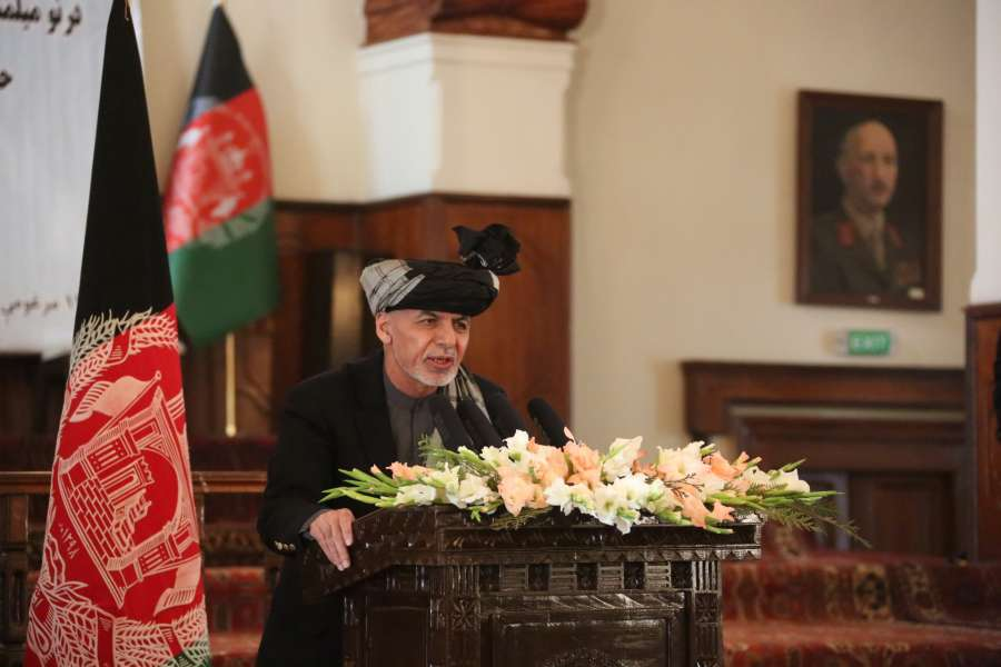 (WORLD SECTION) AFGHANISTAN-KABUL-PRESIDENT-CONSTITUTION ANNIVERSARY by .