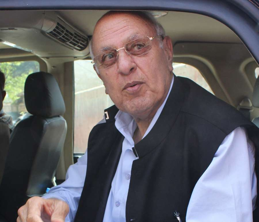 Jammu and Kashmir chief minister Farooq Abdullah. (File Photo: IANS) by .