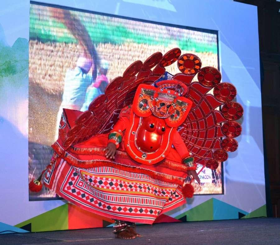 Kolkata: Artists perform during a Kerala Tourism programme in Kolkata on Jan 20, 2017. (Photo: IANS) by .
