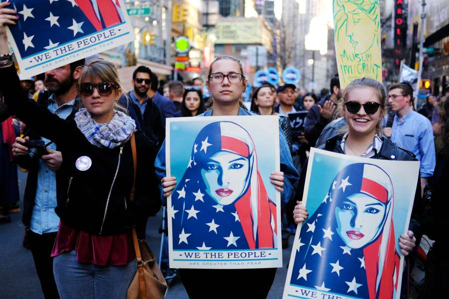 U.S.-NEW YORK-PROTEST by .