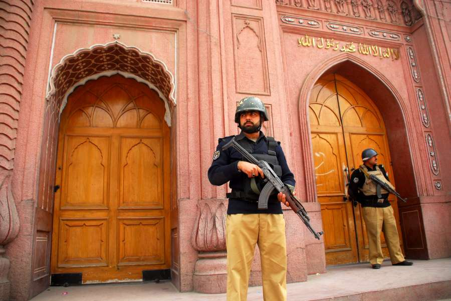 PAKISTAN-PESHAWAR-SECURITY by .