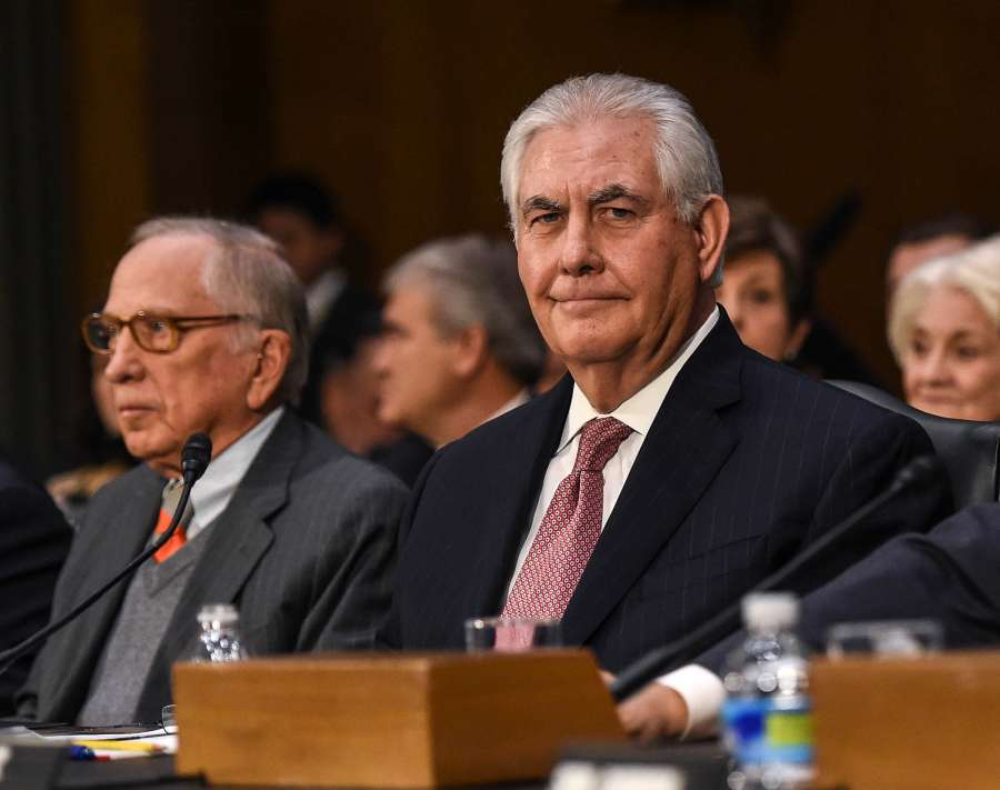 U.S.-WASHINGTON D.C.-SECRETARY OF STATE-CONFIRMATION HEARING by .