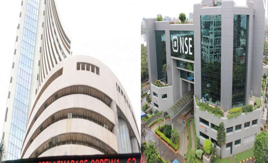 Mumbai: A view of Bombay Stock Exchange (BSE) and National Stock Exchange (NSE). (File Photo: IANS) by .