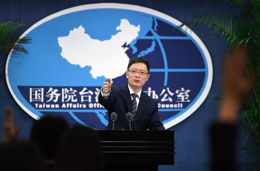 CHINA-BEIJING-TAIWAN AFFAIRS OFFICE-PRESS CONFERENCE (CN) by .