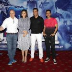"New Delhi: Actors Akshay Kumar, Tapsee Pannu, Manoj Bajpayee and Anupam Kher during the Promotional Interview of film ""Naam Shabana"" in New Delhi on March 19,2017. (Photo: Amlan Paliwal/IANS) by ."