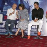 "New Delhi: Actors Akshay Kumar, Tapsee Pannu and Anupam Kher during the Promotional Interview of film ""Naam Shabana"" in New Delhi on March 19,2017. (Photo: Amlan Paliwal/IANS) by ."