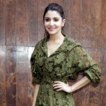 """New Delhi: Actors Anushka Sharma during the promotional event of film """"Phillauri"""" in New Delhi on March 21, 2017. (Photo: Amlan Paliwal/IANS) by ."""