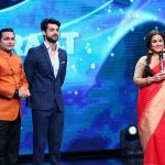 Mumbai: Actress Vidya Balan with television show host Karan Wahi and television actor Paritosh Tripathi on the sets of Sony TV's singing reality show Indian Idol season 9 to promote her film Begum Jaan in Mumbai on March 21, 2017. (Photo: IANS) by .