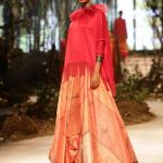 New Delhi: A model walks the ramp for fashion designers Tarun Tahiliani and Amit Aggarwal during the grand finale of Amazon India Fashion Week Autumn Winter 2017 in New Delhi on March 18, 2017. (Photo: Amlan Paliwal/IANS) by .