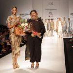 New Delhi: Indonesian fashion designer Novita Yunus during Amazon India Fashion Week - Autumn Winter's, in New Delhi, on March 15, 2017. (Photo: Amlan Paliwal/IANS) by .