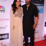 Mumbai: Actors Ajay Devgan and Kajol during the HT Most Stylish Awards in Mumbai, on March 24, 2017. (Photo: IANS) by .