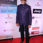 Mumbai: Actor Amitabh Bachchan during the HT Most Stylish Awards in Mumbai, on March 24, 2017. (Photo: IANS) by .