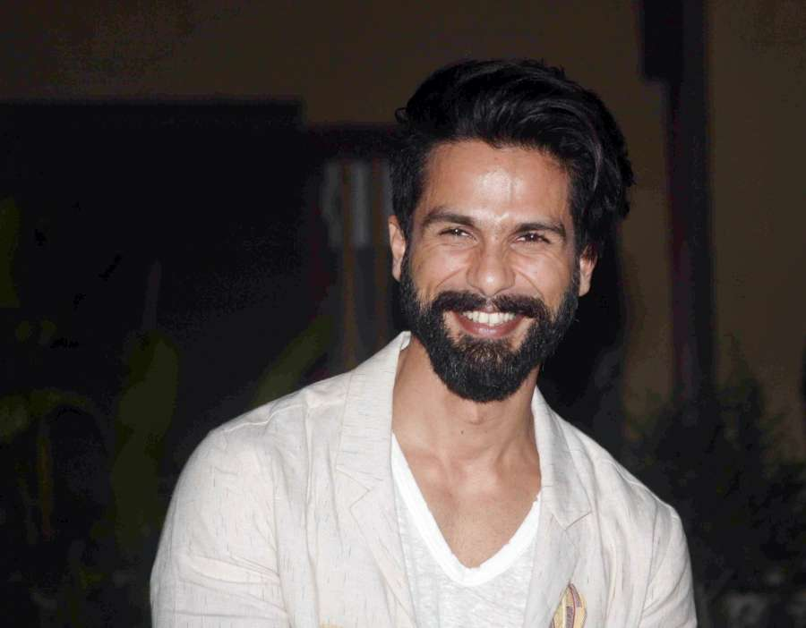 Mumbai: Actor Shahid Kapoor during the celebration of his 36th birthday on February 25 in Mumbai on Feb 19, 2017. (Photo: IANS) by .