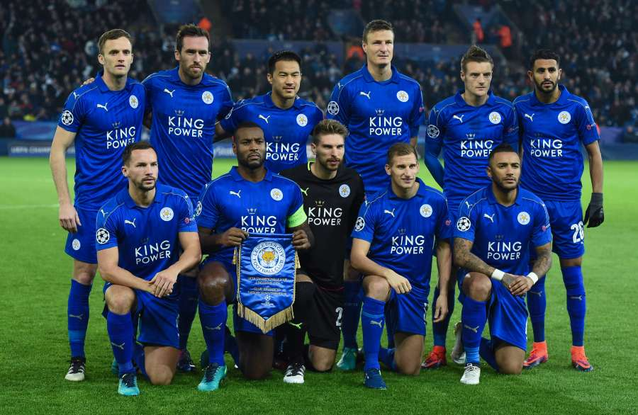 (SP)BRITAIN-LEICESTER-SOCCER-UEFA CHAMPIONS LEAGUE-LEICESTER CITY VS CLUB BRUGGE by .