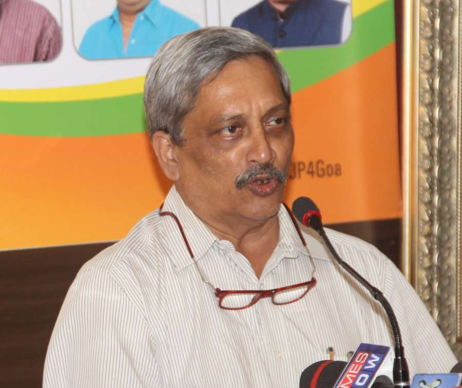 Union defence minister Manohar Parrikar. (File Photo: IANS) by .