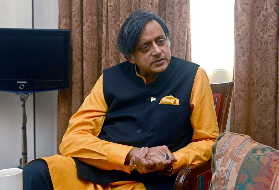 Congress MP Shashi Tharoor. (File Photo: IANS) by .