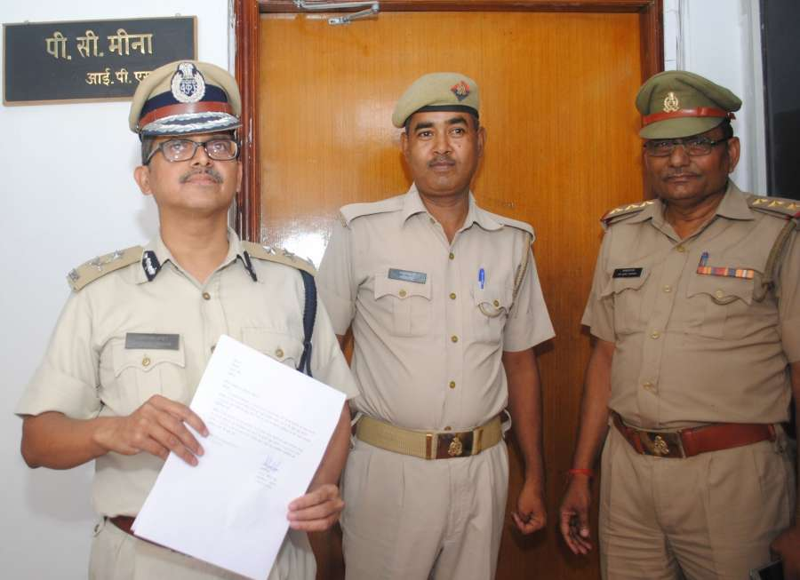 Lucknow: IPS officer Amitabh Thakur who joined the service by reporting at the office of the director general of police (DGP) after Uttar Pradesh government reinstated him on 11th March 2016 after 10 months suspension in Lucknow on May 12, 2016. (Photo: IANS) by .