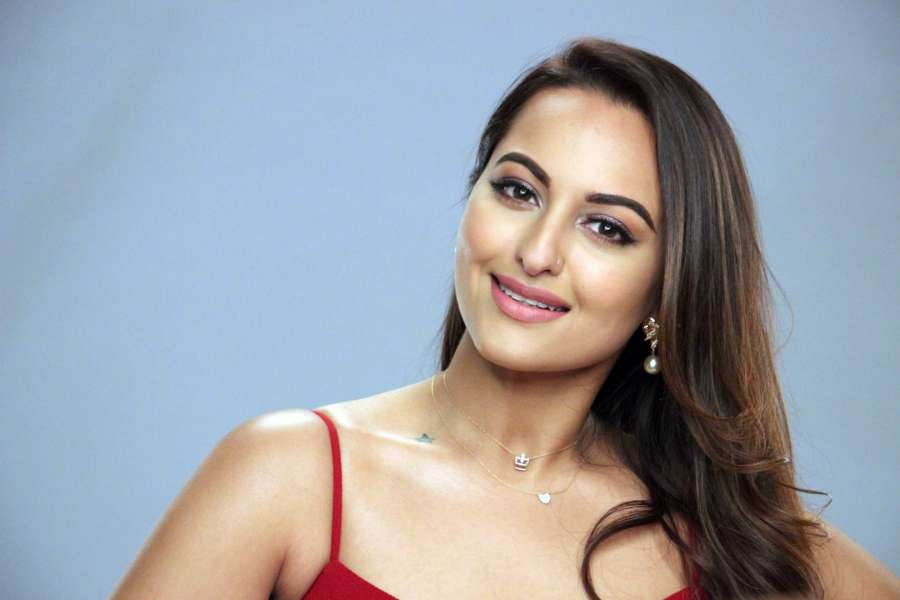 Mumbai: Actress Sonakshi Sinha during the media interaction of dance reality show Nach Baliye Season 8 in Mumbai on March 14, 2017. (Photo: IANS) by .