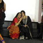 "Mumbai: Actors Vidya Balan and Ila Arun during the trailer launch of film ""Begum Jaan"" in Mumbai on March 14, 2017. (Photo: IANS) by ."