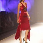 New Delhi: A model walks the ramp for fashion designer Namrata Joshipura during the Amazon India Fashion Week Autumn Winter 2017 in New Delhi on March 17, 2017. (Photo: Amlan Paliwal/IANS) by .
