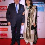 Mumbai: Actors Rishi Kapoor and Neetu Singh during the HT Most Stylish Awards in Mumbai, on March 24, 2017. (Photo: IANS) by .