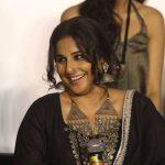 "Mumbai: Actress Vidya Balan during the trailer launch of film ""Begum Jaan"" in Mumbai on March 14, 2017. (Photo: IANS) by ."