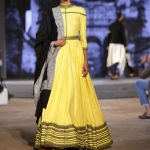 New Delhi: A model walks the ramp for fashion designers Shantanu and Nikhil in collaboration with Airbnb in New Delhi on March 19, 2017. (Photo: Amlan Paliwal/IANS) by .