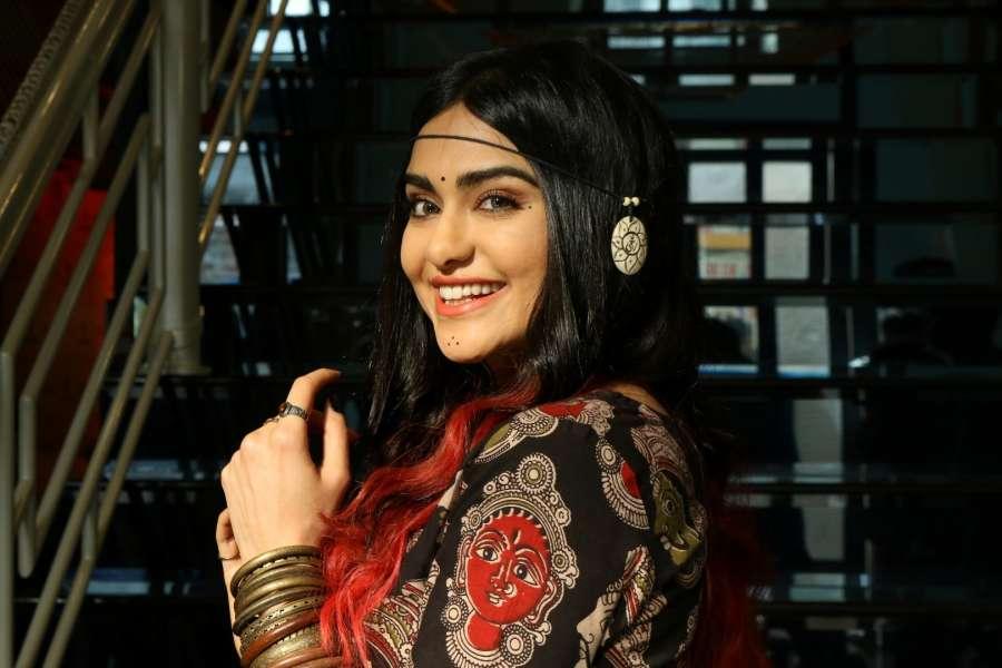 Mumbai: Actress Adah Sharma during the launch of Craftsvilla's new brand Anuswara, in Mumbai on April 19, 2017. (Photo: IANS) by .
